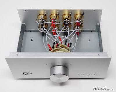 Balanced XLR Switchbox - Audio Design HAS-3LB