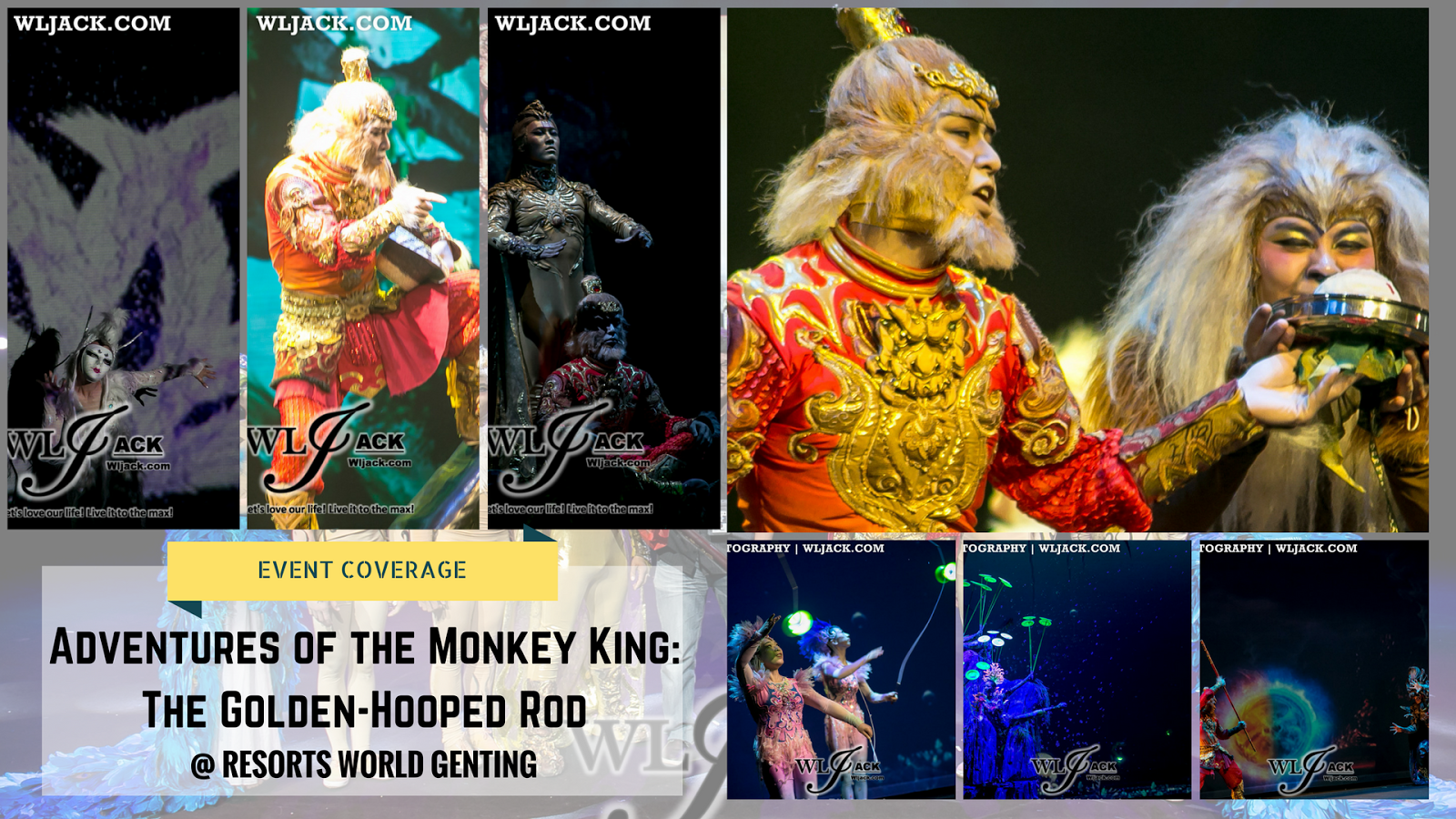 event coverage adventures of the monkey king the golden hooped rod resorts world genting