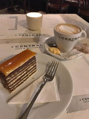 カフェセントラルのケーキ