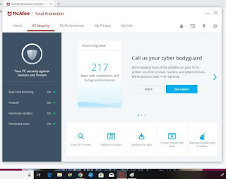 McAfee Total Securityتحميل