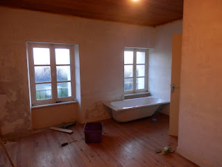 Decorating in France, renovation project