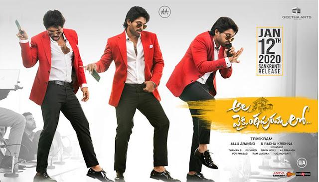 Allu Arjun Starrer Ala Vaikunthapurramuloo leaked online by Tamilrockers: eAskme
