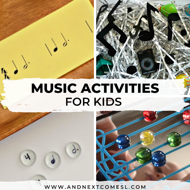 Interactive music activities for kids