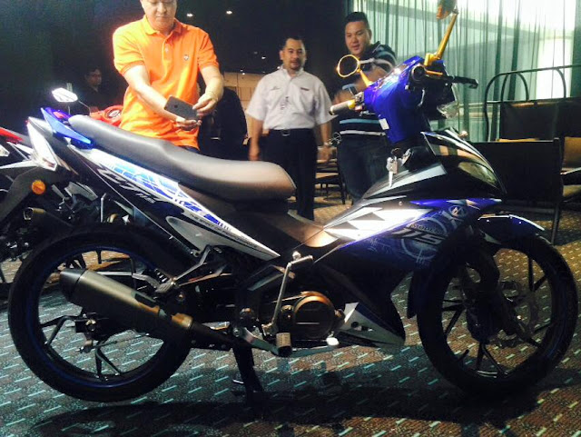 Modenas CT115S 2015 Di Lancarkan Secara Rasmi