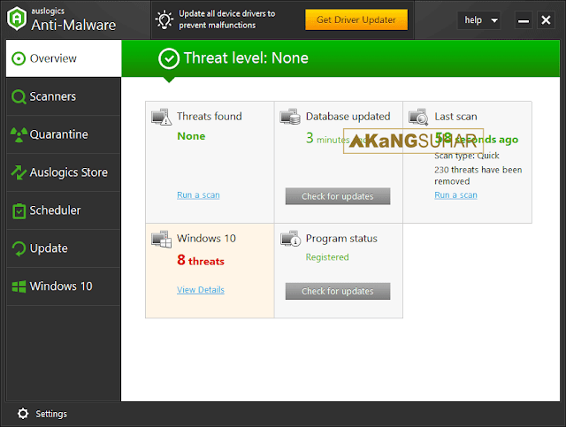 Download Auslogics Anti-Malware Full Version Terbaru