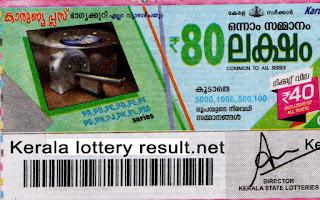 Karunya Plus lotteryresult keralalottery.org