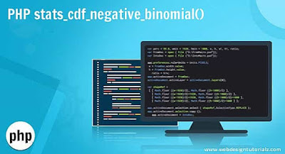 PHP stats_cdf_negative_binomial() Function