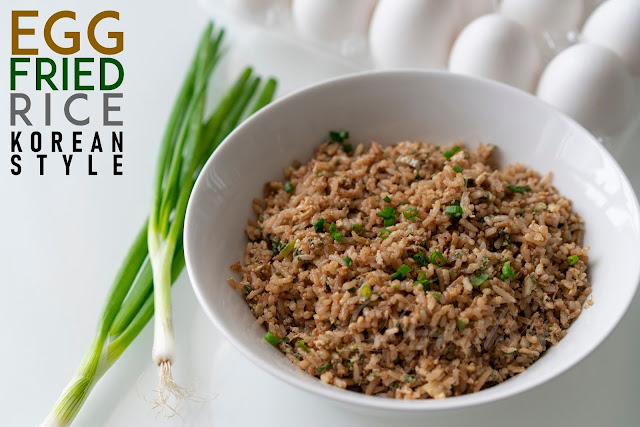 Droolsss Egg Fried Rice Korean Style