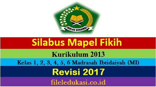 Silabus Fikih K13 Kelas 1 2 3 4 5 6 Madrasah Ibtidaiyah Mi Kelas 6 Mis Baregbeg