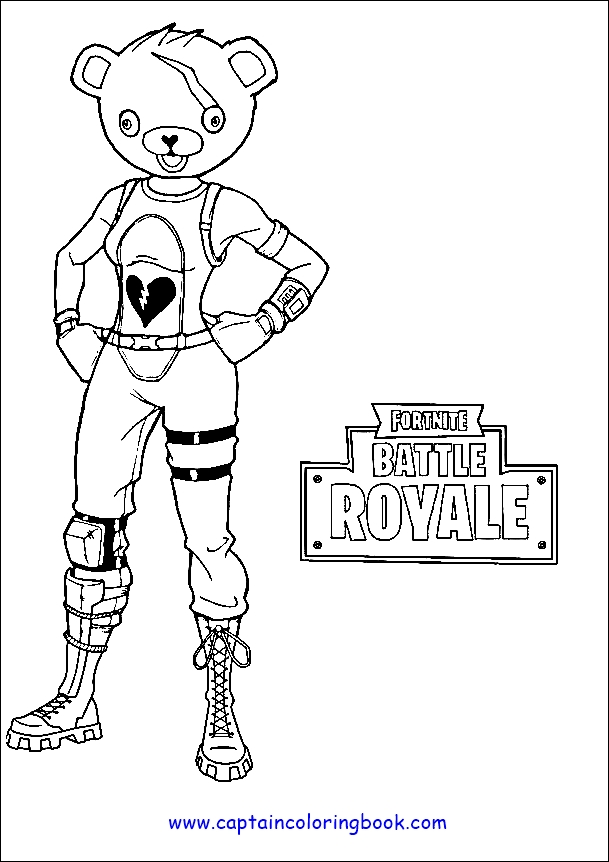 Fortnite coloring pages | Print and Color.com | 862x609