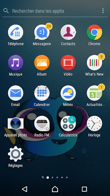 تغيير خلفية الشاشة في هاتف الاندرويد