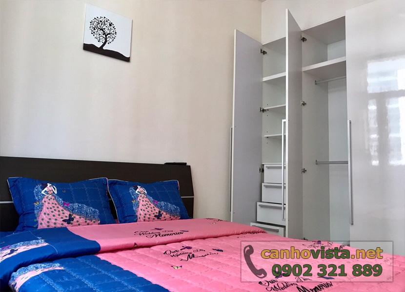 giá bán căn hộ the vista quận 2 - gường ngủ phòng 2