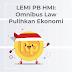 Omnibus Law Pangkas Jalur Birokrasi dan Pulihkan Kondisi Ekonomi