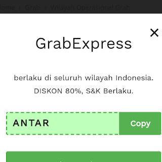 Kode promo grab express Palembang 2020