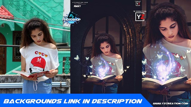 adobe photoshop cc 2020 manipulation tutorial | magic book |yzcreation 2020