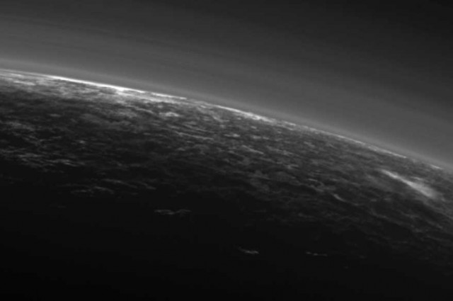 Breaking News Astonishing Latest Images Show What Appear To Be CLOUDS On Pluto