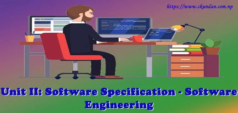 Software Specification - Software Engineering