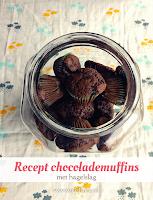 Recept chocolademuffins - met hagelslag