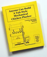 This Plan Book Tells You Everything You Need to Know to Build a Whizbang Chicken Plucker