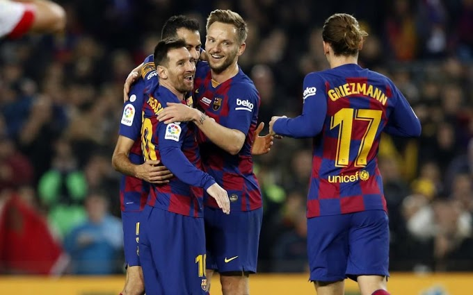 Barcelona beat Mallocra with he Hat-Trick of Messi