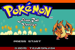 pokemon flare red cover