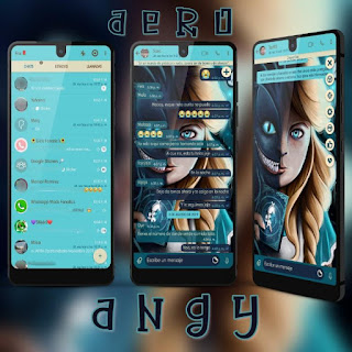 Horror Girl Theme For YOWhatsApp & Fouad WhatsApp By Ave fénix