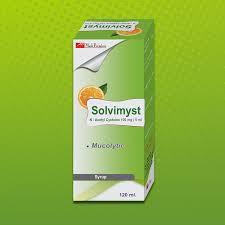 سولفيميست شراب SOLVIMYST علاج الكحة مذيب للبلغم ومهدئ للسعال ويقوي المناعة الجرعة والسعر في 2020