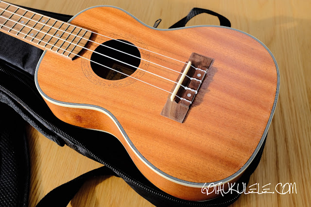 Hricane UK-23 Ukulele body