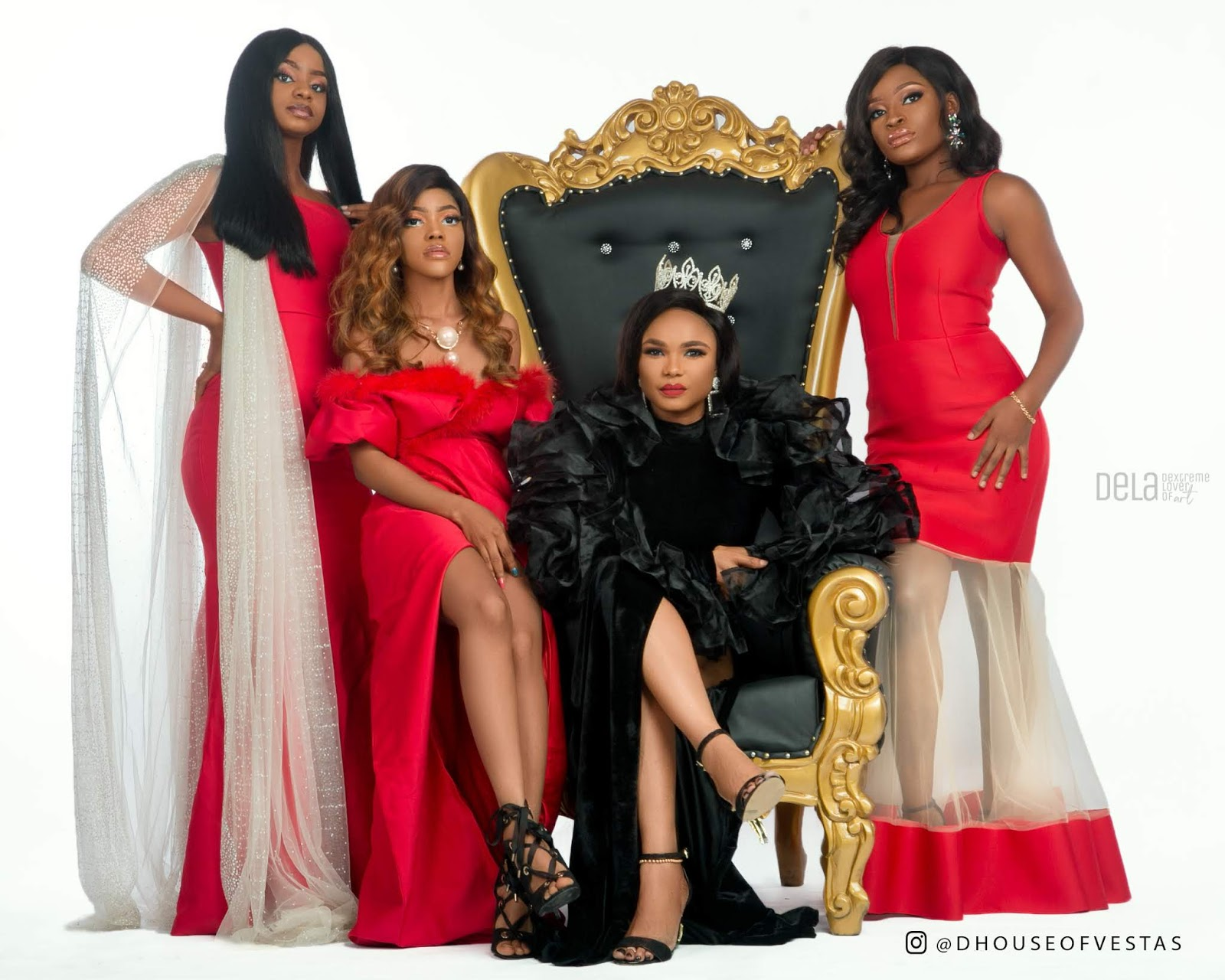 House Of Vestas THE LIONESS AND HER CUBS Featuring Actress Iyabo Ojo Priscilla Ojo Miss Lucy Thacutegemini3