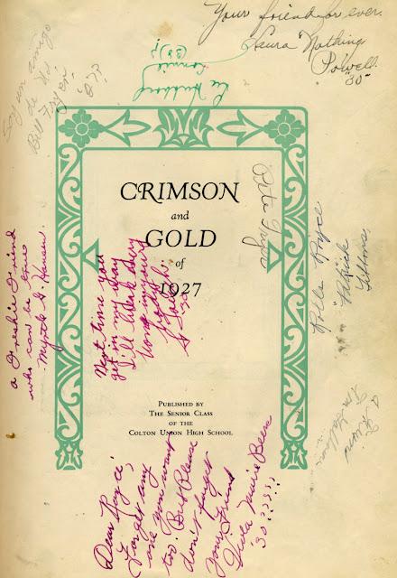 1928 Crimson Gold