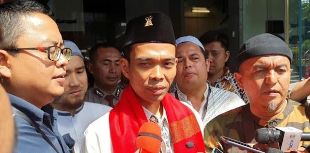 Isi Ceramah Di KPK, Ternyata UAS Tidak Diundang Resmi Oleh Pimpinan