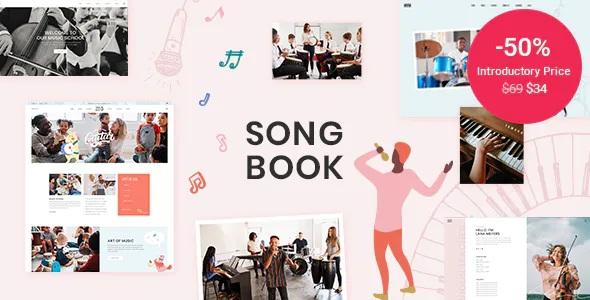 Music School WordPress Theme