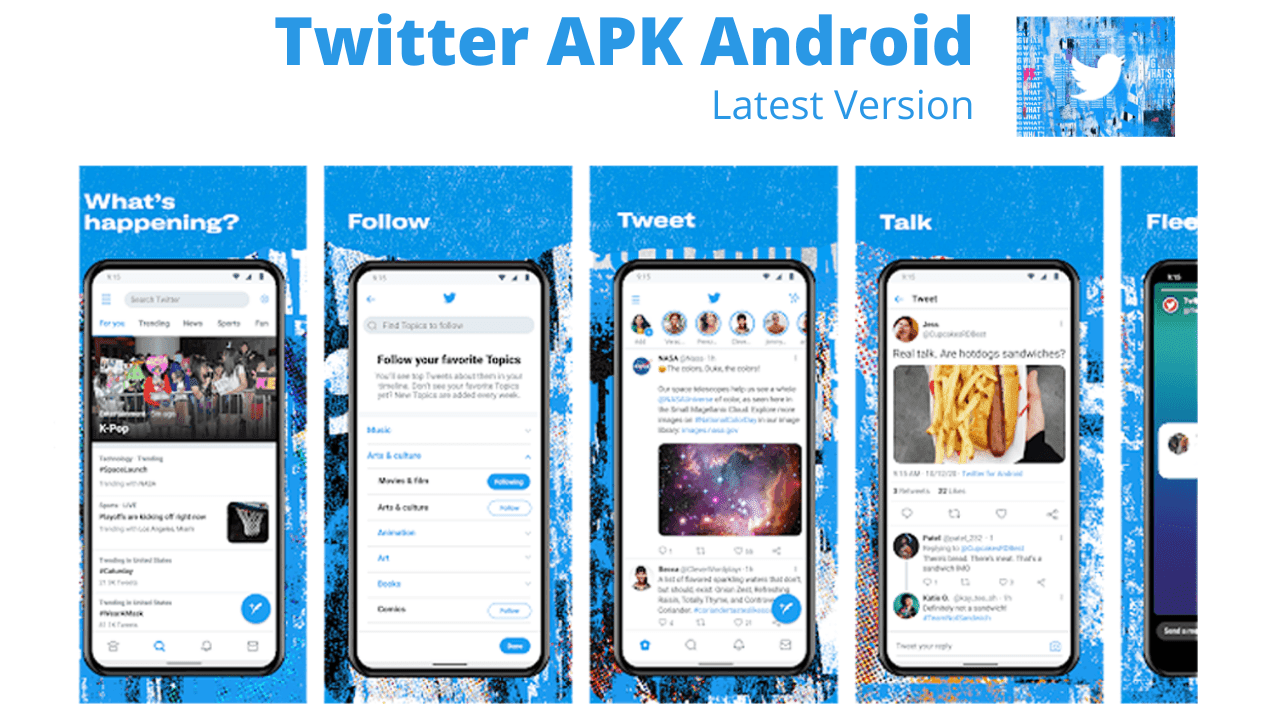 Download Twitter APK Android Latest Version