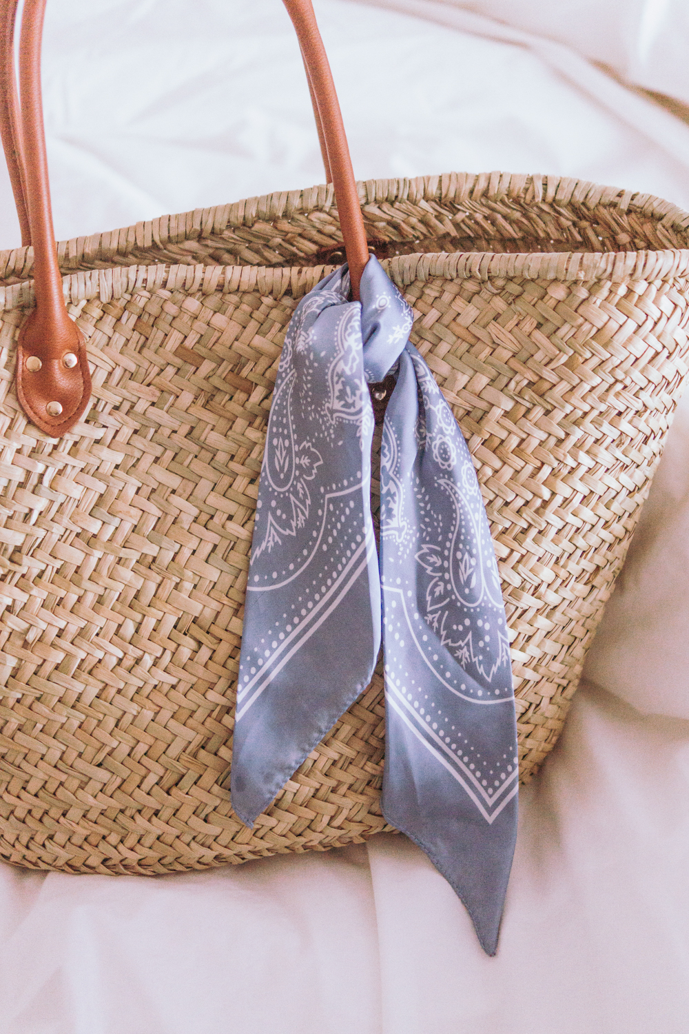 Barely-There-Beauty-blog-straw-bag-hair-scarf