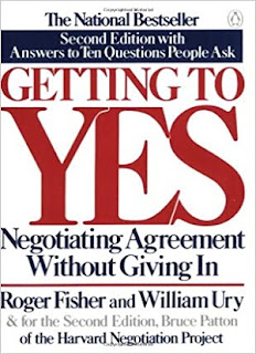 Getting to Yes Negotiating Agreement Without Giving In; Second Edition