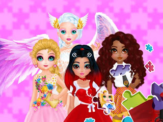 العاب بنات بازل - Princesses and Angels