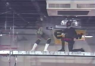 ECW Ultra Clash 1993 - JT Smith vs. The Dark Patriot in a scaffold match