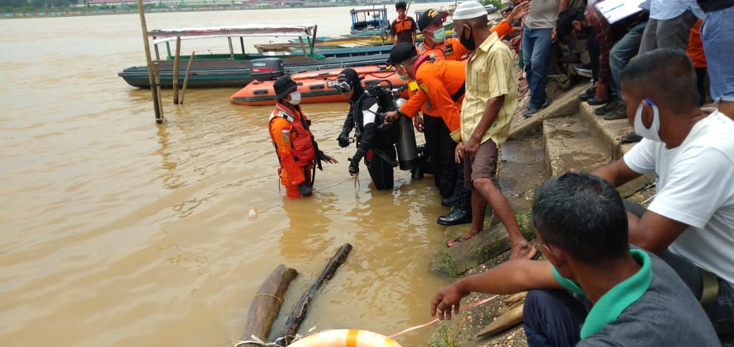 Bocah Umur 7 Tahun Tenggelam di Sungai Batanghari