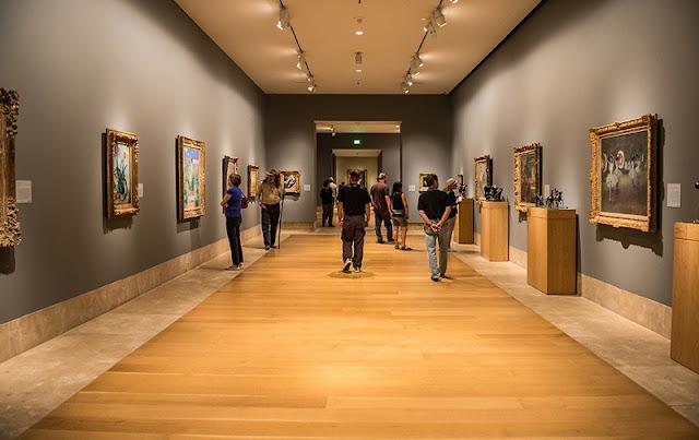 Noite no Norton Simon Museum of Art em Pasadena