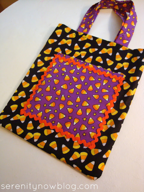 DIY Halloween Trick or Treat Bag (Simple Sew), Serenity Now blog