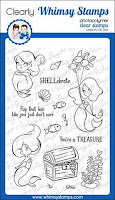 *NEW Mermaid Birthday Clear Stamps