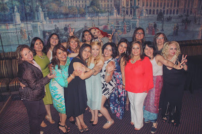 Parisian Breakfast at Tiffany's Bridal Shower - family photo2