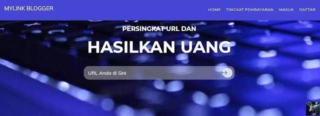 MyLinkBlog.com URL Shortener Indonesia yang Membayar Tinggi
