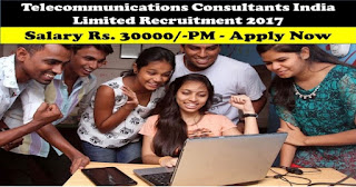 TCIL Recruitment 2017 - Apply for 110 post of Driver, Labor, Mason & Carpenter
