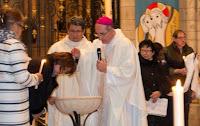 Baptême Phonekéo Veillée Pascale 2016 Cathédrale de Sens