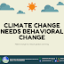 How to Reduce Global Warming | CLIMATE CHANGE needs BEHAVIORAL CHANGE! [INFOGRAPHIC]