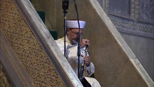 Ποιος είναι ο Αλί Ερμπάς, ο επικεφαλής με το οθωμανικό ξίφος