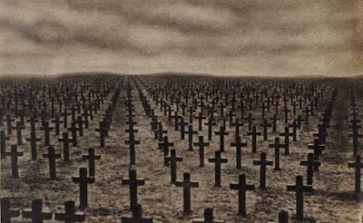 cruci dintr-un cimitir - imagine preluată de pe site-ul digital.nls.uk