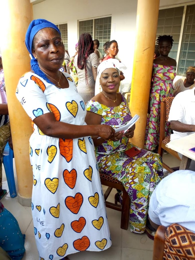 HON. QUEENSTAR MAAME POKUAH SAWYERR SUPPORTS WOMEN WITH SOFT LOANS