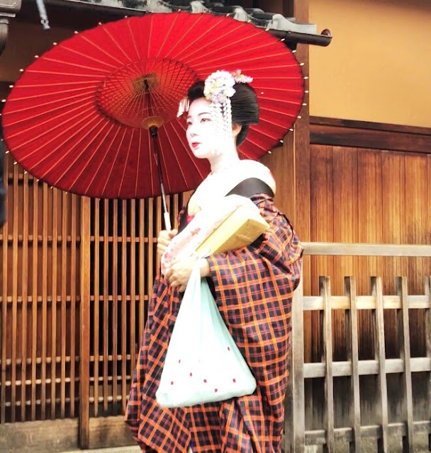 Maiko dans Gion Kyoto